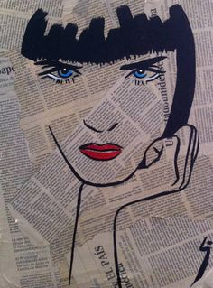 "Saatchi Art Artist Conrad Crispin Jones; Painting, ""Miss Bordeaux"" #art                                                                                                                                                                                 More"