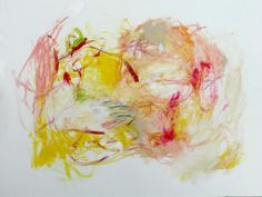 Cheerful Abstract Painting Expressionist by kerriblackmanfineart, $75.00