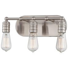 View the Minka Lavery 5135 Downtown Edison 3 Light Bathroom Vanity Light with Vintage Edison Bulb at Build.com.
