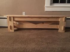 X-bench for kid's table | Do It Yourself Home Projects from Ana White