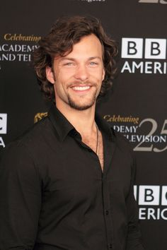 Kyle Schmid. Watch Copper, and the American Being Human.