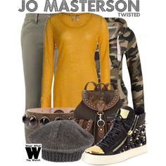 Inspired by Maddie Hasson as Jo Masterson on Twisted.