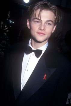 Leonardo DiCaprio from Stars' First Oscars The A-list actor made it to the Oscars for his first time in 1994 for his part in What's Eating Gilbert Grape. Leonardo Dicapro, Young Leonardo Dicaprio, Most Beautiful Man, Hot Boys, Pretty Boys, Cute Guys, Pretty People, Celebrity Crush, My Idol