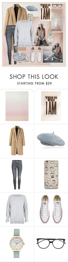 """Free to Be Me"" by dazzling-dazed-dayz ❤ liked on Polyvore featuring Sandberg Furniture, Urban Outfitters, rag & bone, Charlotte Simone, Converse, Olivia Burton, Yves Saint Laurent and Relic"