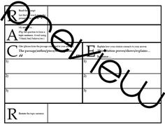 Download a simple easy to use graphic organizer to teach textual racer short answer strategy new layout tda text dependent analysis open ended fandeluxe Choice Image