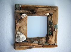 Driftwood mirror 50.00, via Etsy.