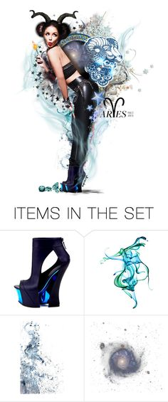 """Ram• I •Am"" by ultracake ❤ liked on Polyvore featuring art, music, zodiac, Aries, artset and ultracake"