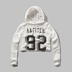 Cropped Logo Graphic Hoodie...ya I'm gonna love this baby! Got just on time. Less than 5 left