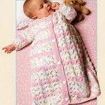 Free Crochet Baby Buntings, Cocoons, & Sleep Sack Patterns - Karla's Making It