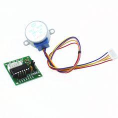 Smart Electronics 28BYJ-48 5V 4 Phase DC Gear Stepper Motor + ULN2003 Driver Board for Arduino UNO MEGA R3 DIY Starter Kit