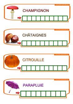 Apprendre à écrire des mots à la maternelle