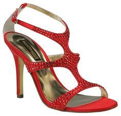 Benjamin Adams Red Sandals