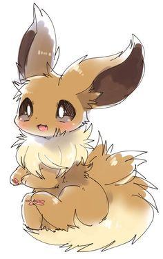 Evoli's cutest image ever ^^ Evoli's cutest image ever ^^ - Poke Ball Pokemon Life, O Pokemon, Pokemon Fan Art, All Pokemon Drawing, Pokemon Tattoo, Pokemon Funny, Pokemon Fusion, Pokemon Cards, Ninetales Pokemon