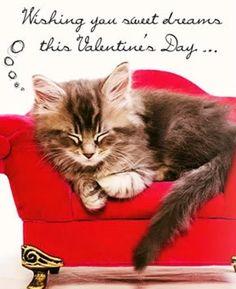 Vintage Valentine Digital Download Kitten By Theidconnection 10 00