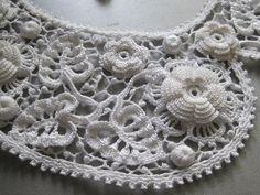 39 Besten Crochet Collar Bilder Auf Pinterest
