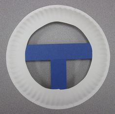 CRAFT-  Paper Plate Steering Wheels