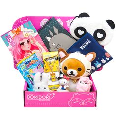 Pin Doki Doki Crate on Pinterest - My daughter would love this subscription box!