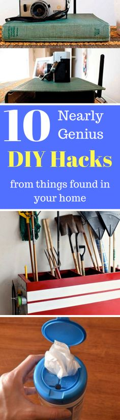 10 Genius DIY Hacks for your home - Trend Setting Life