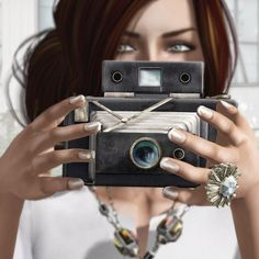 """Check out the Second Life Pic of the Day, """"Say Cheese"""", photo by Strawberry Singh."""