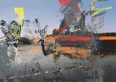 gerhard richter | Gerhard Richter. Venedig ( Venice ),1986.Oil on canvas, 86 x 121 cm ...