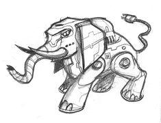 Automaton Panther by butterfrog.deviantart.com on