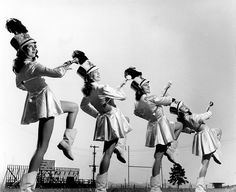 Oak Ridge High School Drum Majorettes, 1947