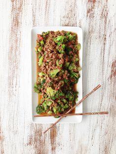 Healthified Crock Pot Beef & Broccoli — The Skinny Fork