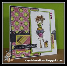 A Sassy Birthday PACKED with Presents by KayminKreations on Etsy
