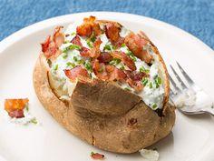 Baked Potatoes Recipe : Food Network Kitchens : Food Network - FoodNetwork.com - Keating Keeper!