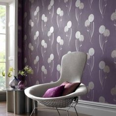 Lovely lavender walls