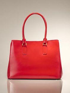 Talbots - Leather Double-Handle Satchel   Handbags  