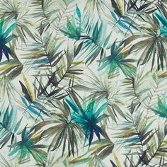 Waikiki in Ocean by Prestigious Textiles Fabric | Curtain Fabric Store