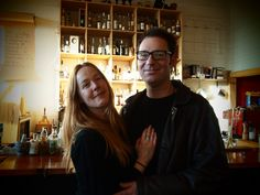 """""""Goddamn 206-ers"""" Jim German and Claire Johnston of Jimgermanbar on Art, Cocktails, Cuisine and Small Town Politics  - Voracious"""
