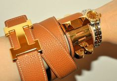 Hermes accessories. #allinthewrist #bracelets #accessories #jewelry #hermes