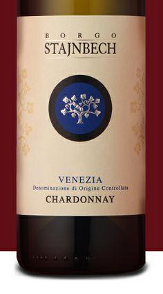 - Borgo Stajnbech by & - Italy Italian White Wine, Wine Bottle Design, Wine Bottles, Wines, Red Wine, Alcoholic Drinks, Packaging, Italy, Beverages