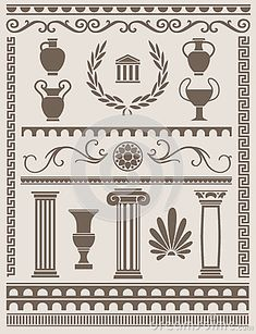 thumbs.dreamstime.com x ancient-greek-roman-design-elements-collection-various-42342350.jpg