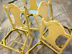 DIY: How To Reinforce Wobbly Wood Chairs - via Sawdust and Embryos