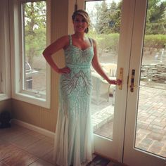 Like this beautiful #Faviana girl, you are sure to look #stunning in #Style S7380! http://www.faviana.com/catalog/dress-s7380 #promdress #glamour #prom2014 #bluedress #beautiful