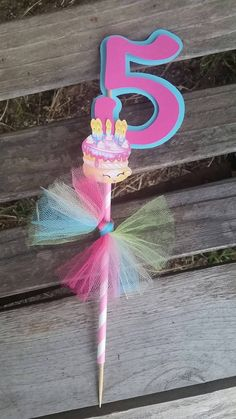 Shopkins centerpiece shopkins cake topper by SilviasPartyDecor