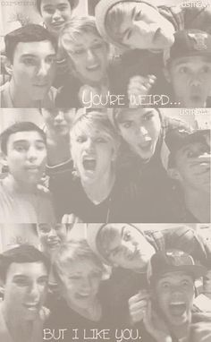 IM5: this is why they are sooo perfect!!!! Because they aren't!! They're normal!!!!