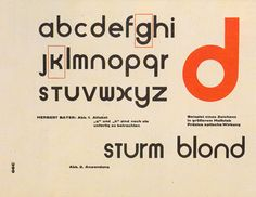 """""""Typography is a service art, not a fine art""""    Hebert Bayer was born on April 5th 1900 in Haag, Austria. In his childhood, Bayer regularly draw the landscape. He studied under Georg Schmidthammer in the school a Linz, Austria where Bayer introduced to the arts and craft movement."""