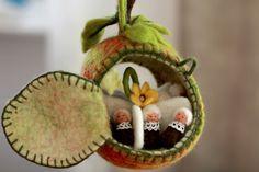 In meinem kleinen Apfel, da ...... 14 tlg von die Filzoma auf DaWanda.com
