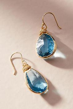 Serefina Coiled Teardrop Earrings