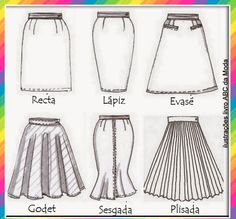 So many skirt styles out there. Which is ur fave? Fashion Mode, Fashion Flats, Womens Fashion, Fashion Tips, Fashion Trends, Fashion Design Drawings, Fashion Sketches, Fashion Illustrations, Croquis Fashion