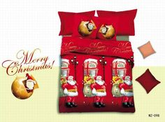 Find More Bedding Sets Information about 3D Merry Christmas Red Queen Size Bedding Sets 4pcs Duvet Cover Sheet Sanding housse de couette Totoro cama shark bedding,High Quality Bedding Sets from Top Qulity Human Hair Factory on Aliexpress.com