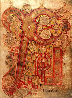 Another one of that page from the Book of Kells. It's amazing! (1842×2491)