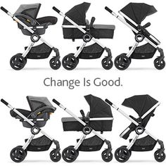 The stylish Chicco Urban is a modular stroller solution that adapts to suit your child's changing needs. Versatile design allows you to use it as a KeyFit® Infant Car Seat (sold separately) carrier, an infant carriage, or as a toddler stroller. Baby On The Way, Our Baby, Baby Baby, Chicco Urban Stroller, Pram Stroller, Best Baby Strollers, Double Strollers, My Bebe, Baby Gadgets