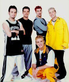 Immagine di nsync, 90s, fashion, outfit, boyband