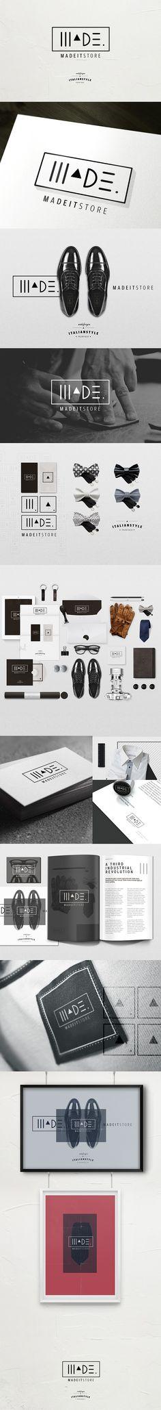Identidade Visual MadeIT Store