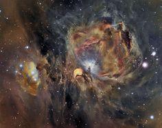 Orion Nebula in Oxygen, Hydrogen, and Sulfur Image Credit & Copyright: César Blanco González